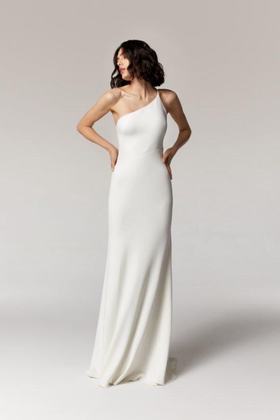 skromne sukienki ślubne