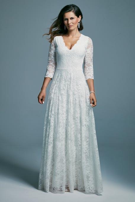 prosta suknia ślubna boho