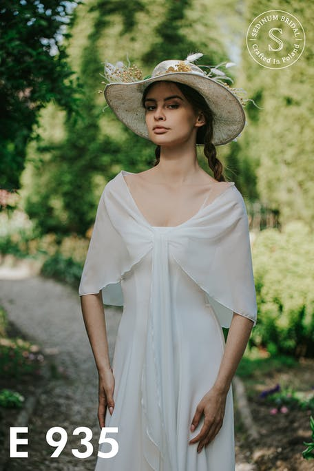 suknia ślubna rustykalna