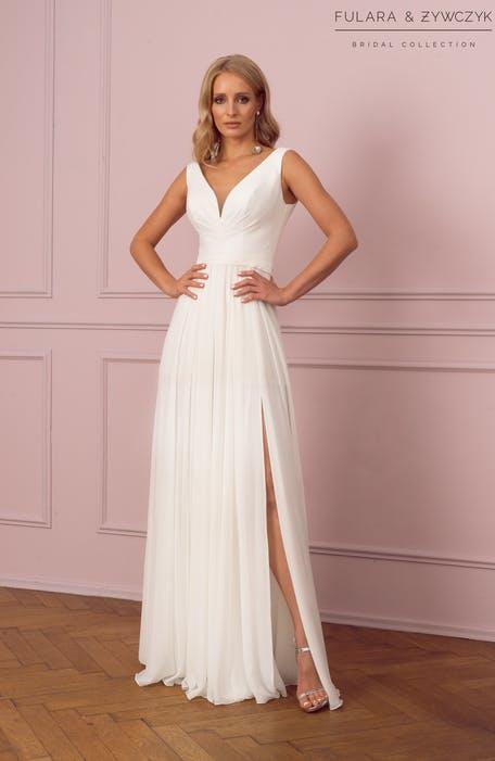 tanie suknie ślubne proste