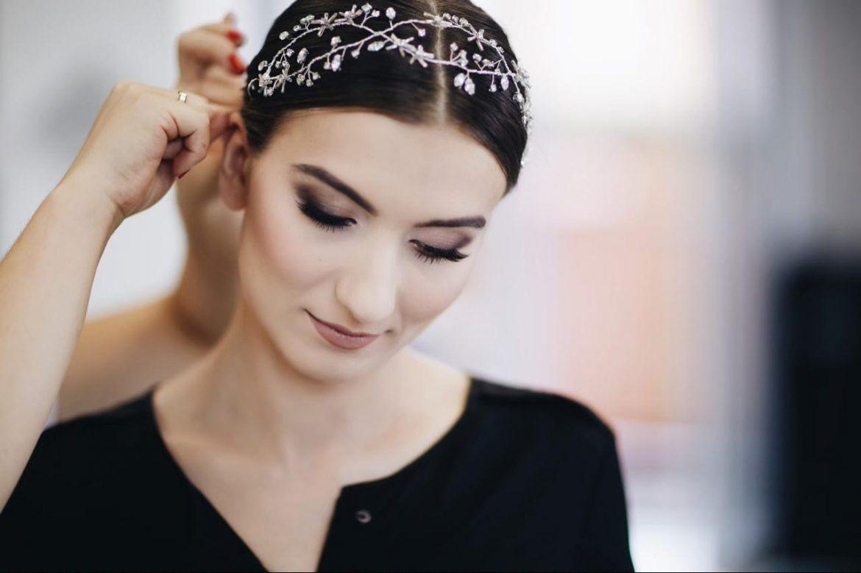 Ślub blogerki ALEXDARG - ozdoba do włosów