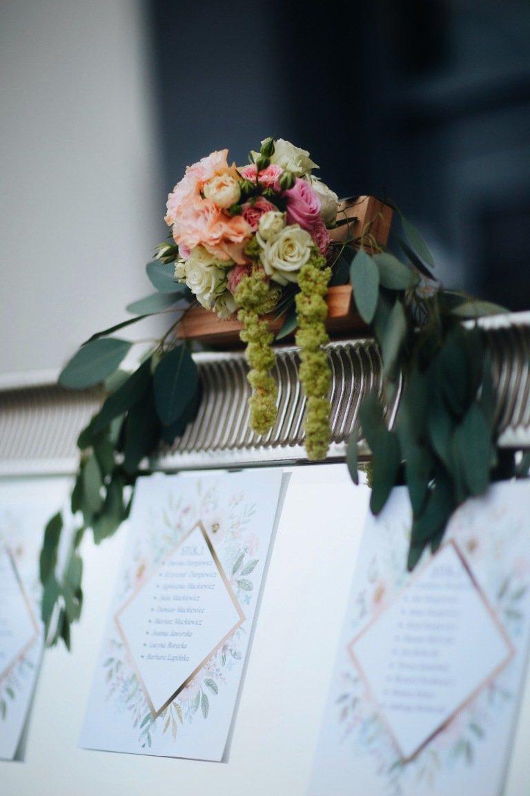 Ślub blogerki ALEXDARG - bukiet ślubny