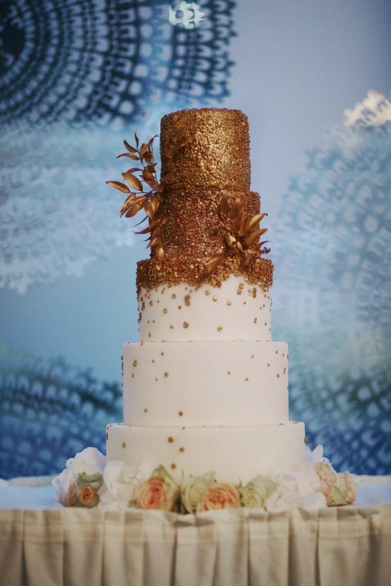Ślub blogerki ALEXDARG - tort weselny