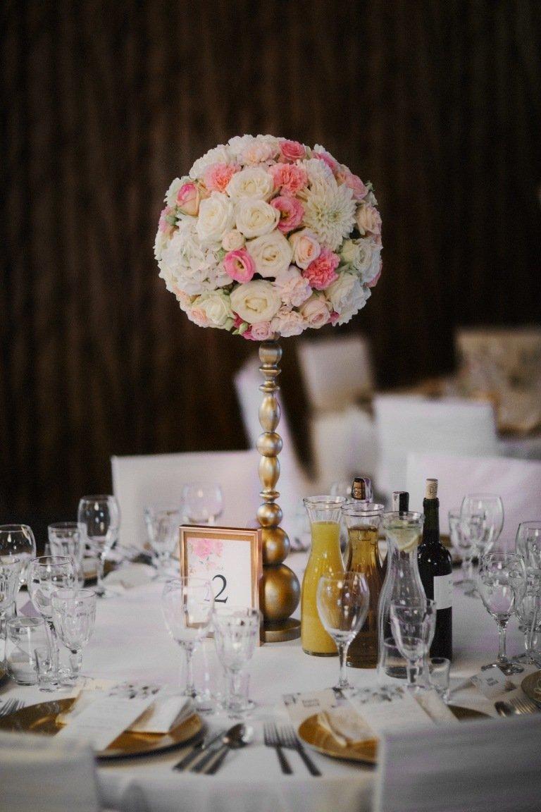 Ślub blogerki ALEXDARG - stoły weselne