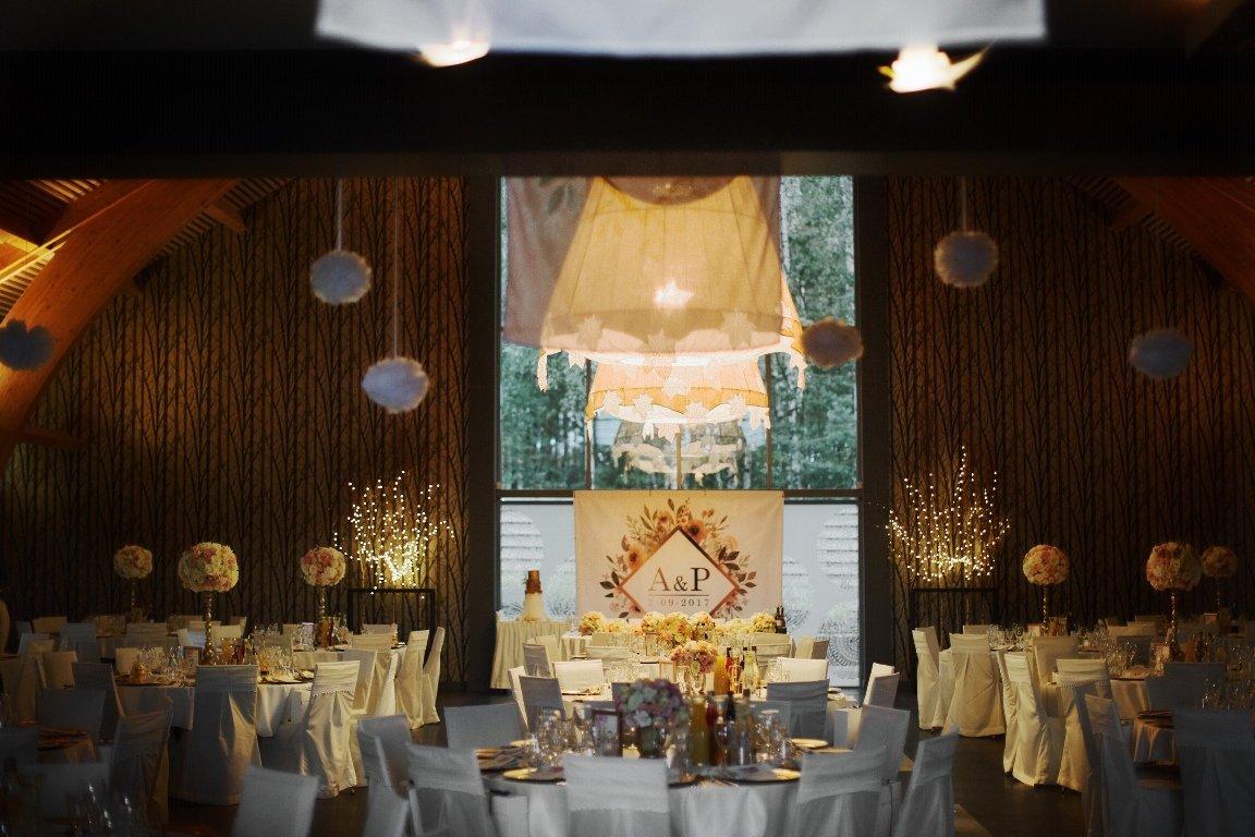 Ślub blogerki ALEXDARG - sala weselna