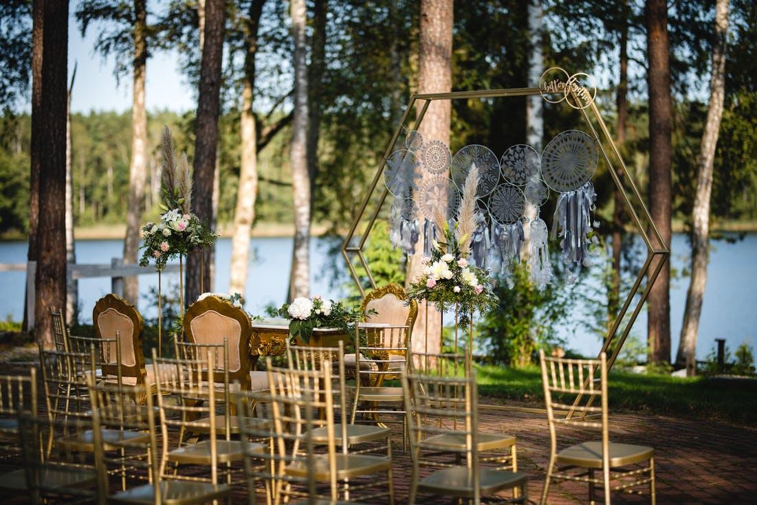 ślub cywilny nad jeziorem