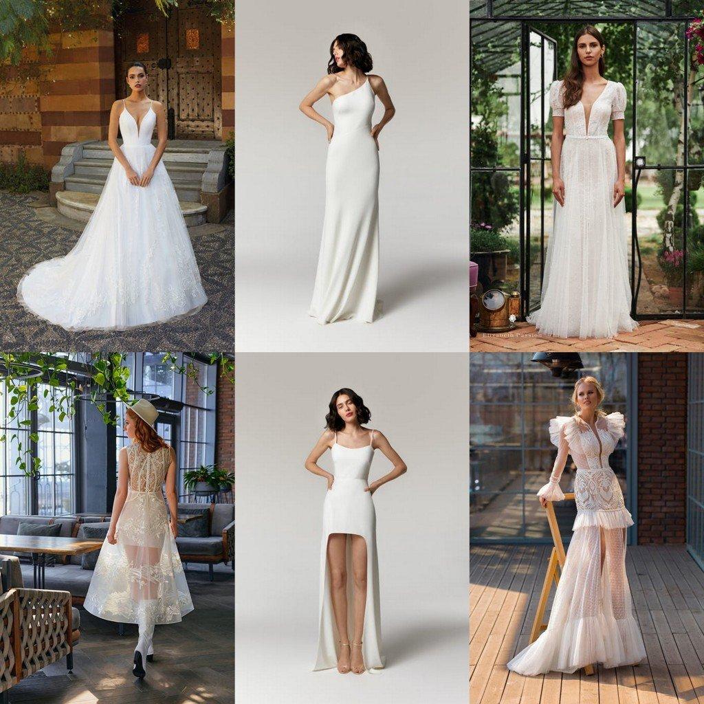 suknie na ślub cywilny dla panny młodej