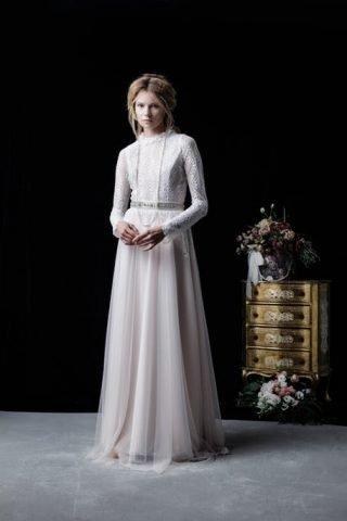 Suknia ślubna w stylu wiktoriańskim