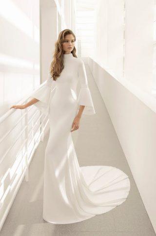 Suknia ślubna w stylu gwiazd