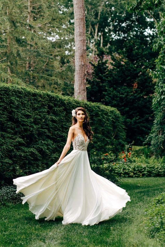 Suknia ślubna W Stylu Boho Galeria Inspiracji Hit Sezonu 2017