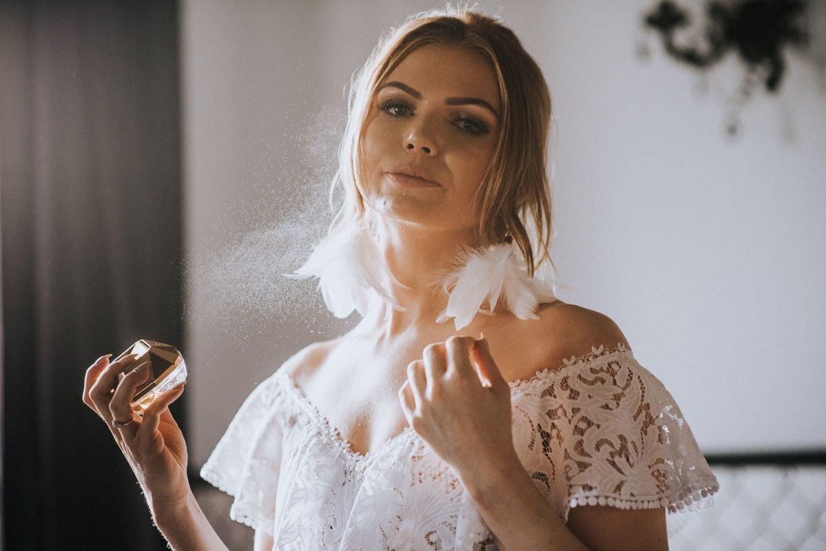 panna młoda i jej ulubione perfumy