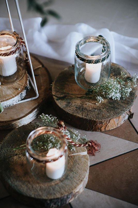 dekoracje weselne w stylu boho glamour