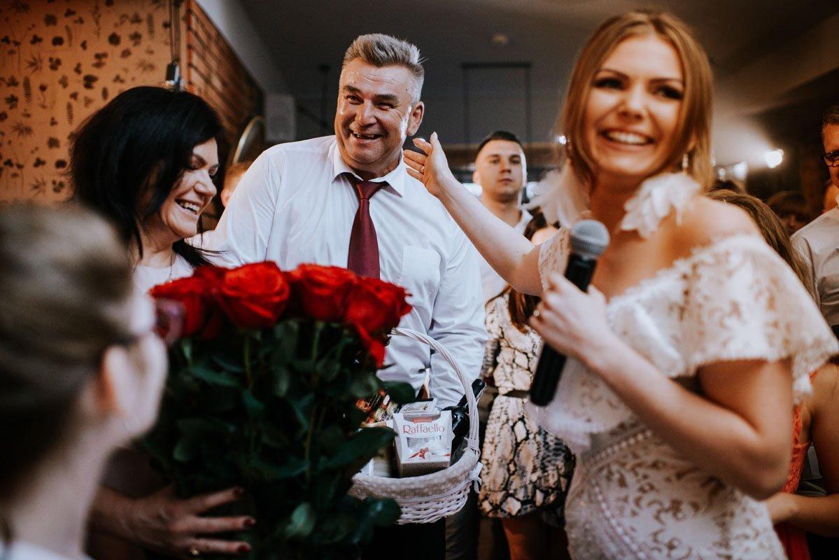 podziękowania rodzicom na weselu