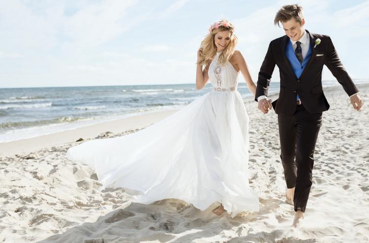 ślub na plaży - co ubrać
