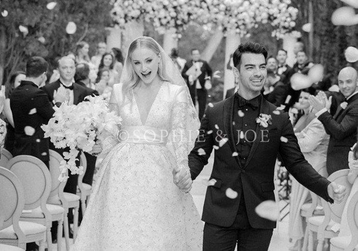 ślub Sophie Turner i Joe`go Jonasa