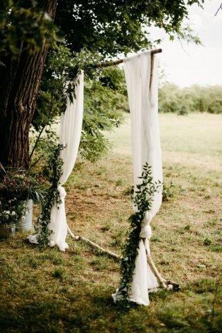 Ślub i wesele w stylu rustykalnym - zdjęcie 55