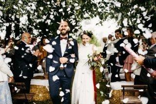 Ślub i wesele w stylu rustykalnym - zdjęcie 42
