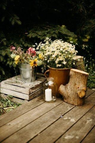 Ślub i wesele w stylu rustykalnym - zdjęcie 25