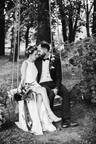 Ślub i wesele w stylu rustykalnym - zdjęcie 15