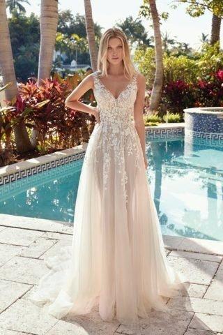 przewiewne suknie ślubne