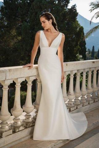 suknie ślubne jednowarstwowe