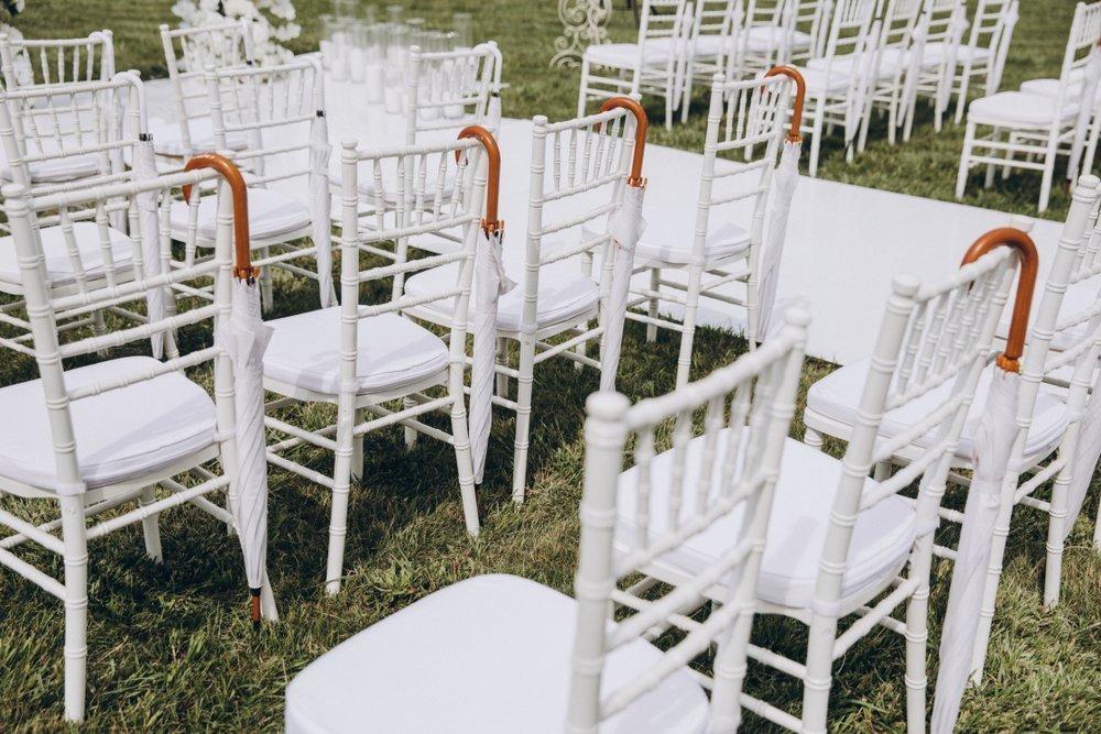 ślub i wesele w upale - parasole