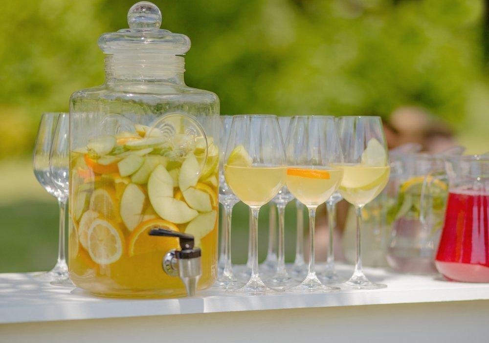 ślub i wesele w upale - napoje
