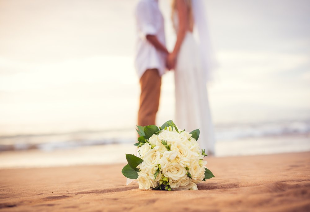 ślub i wesele w upale - plaża