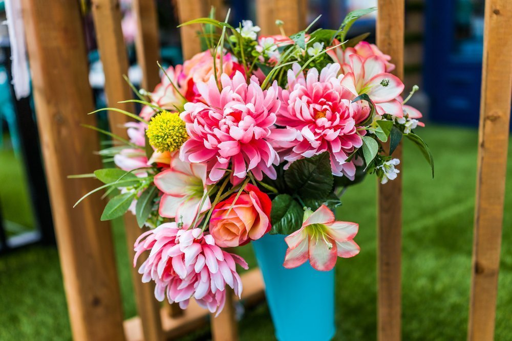 Ślubne anty trendy - sztuczne kwiaty