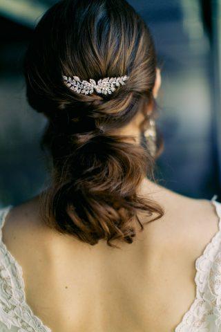 Grzebyk do włosów dla Panny Młodej