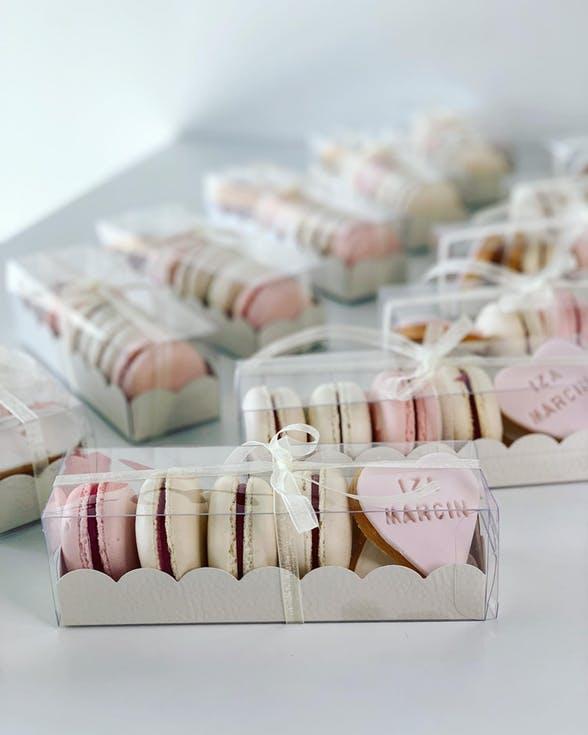 makaroniki prezenty dla gości weselnych