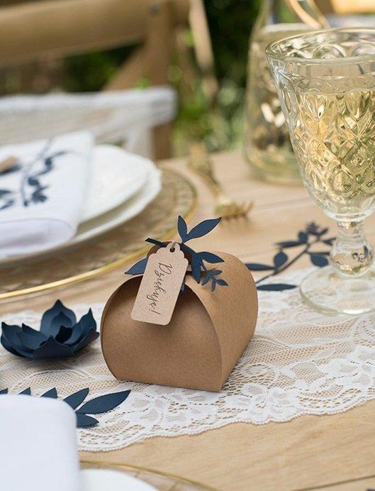 prezenty dla gości weselnych pudełka opakowania