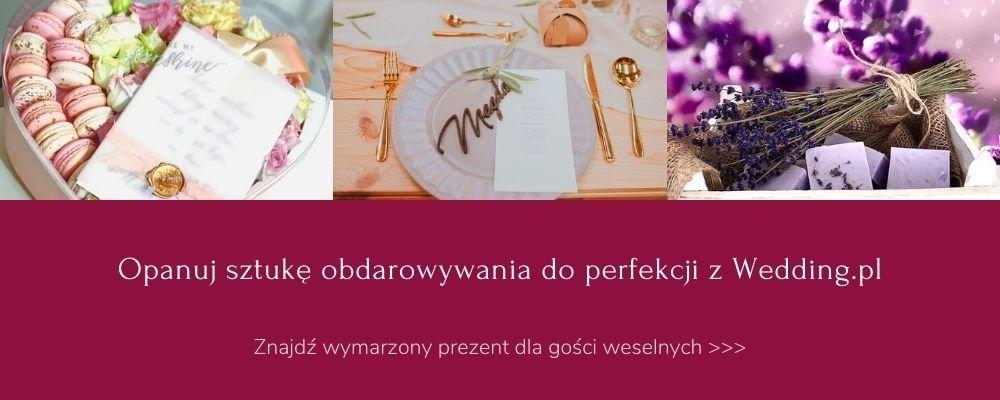 prezenty dla gości weselnych Wedding.pl