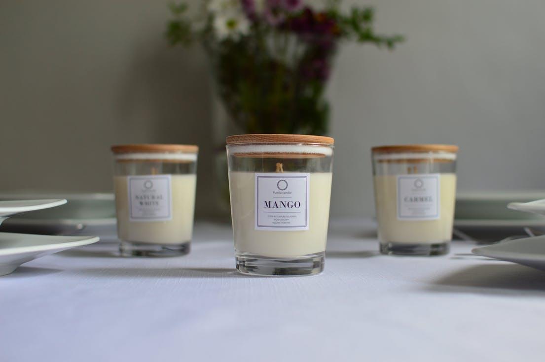 świeczki dla gości weselnych