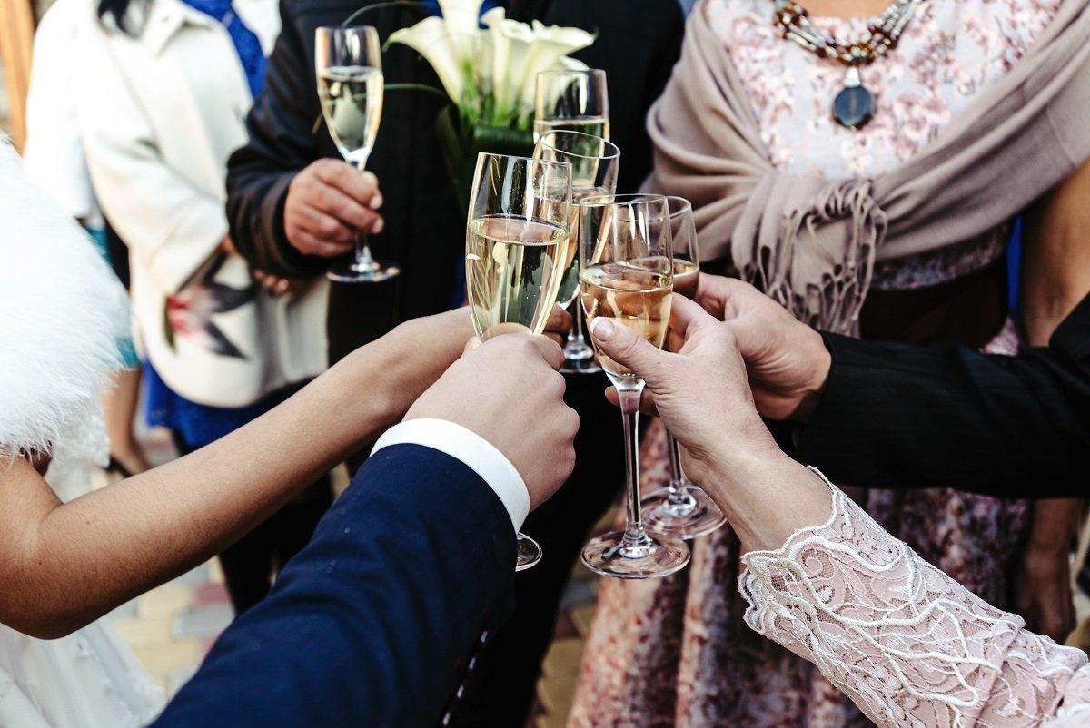 toast podziękowania dla gości weselnych