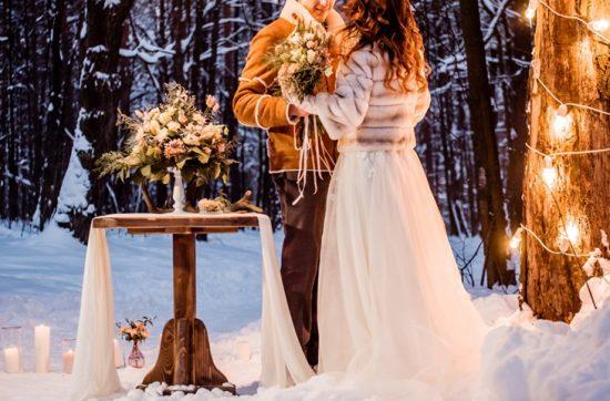 sople lodu w dekoracjach weselnych - zdjęcie 3