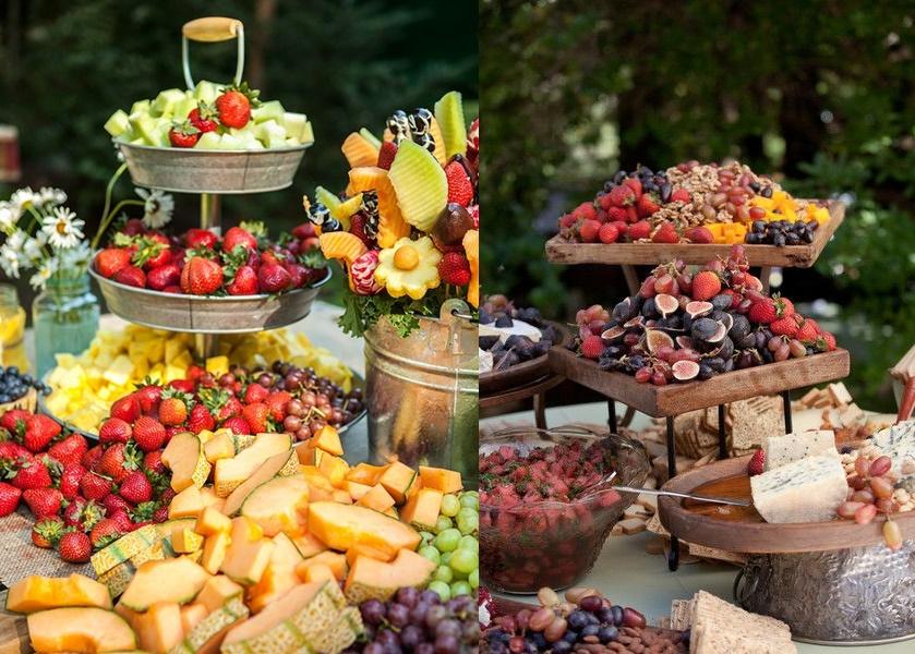 Stół tematyczny na weselu -owoce - zdjęcie 4