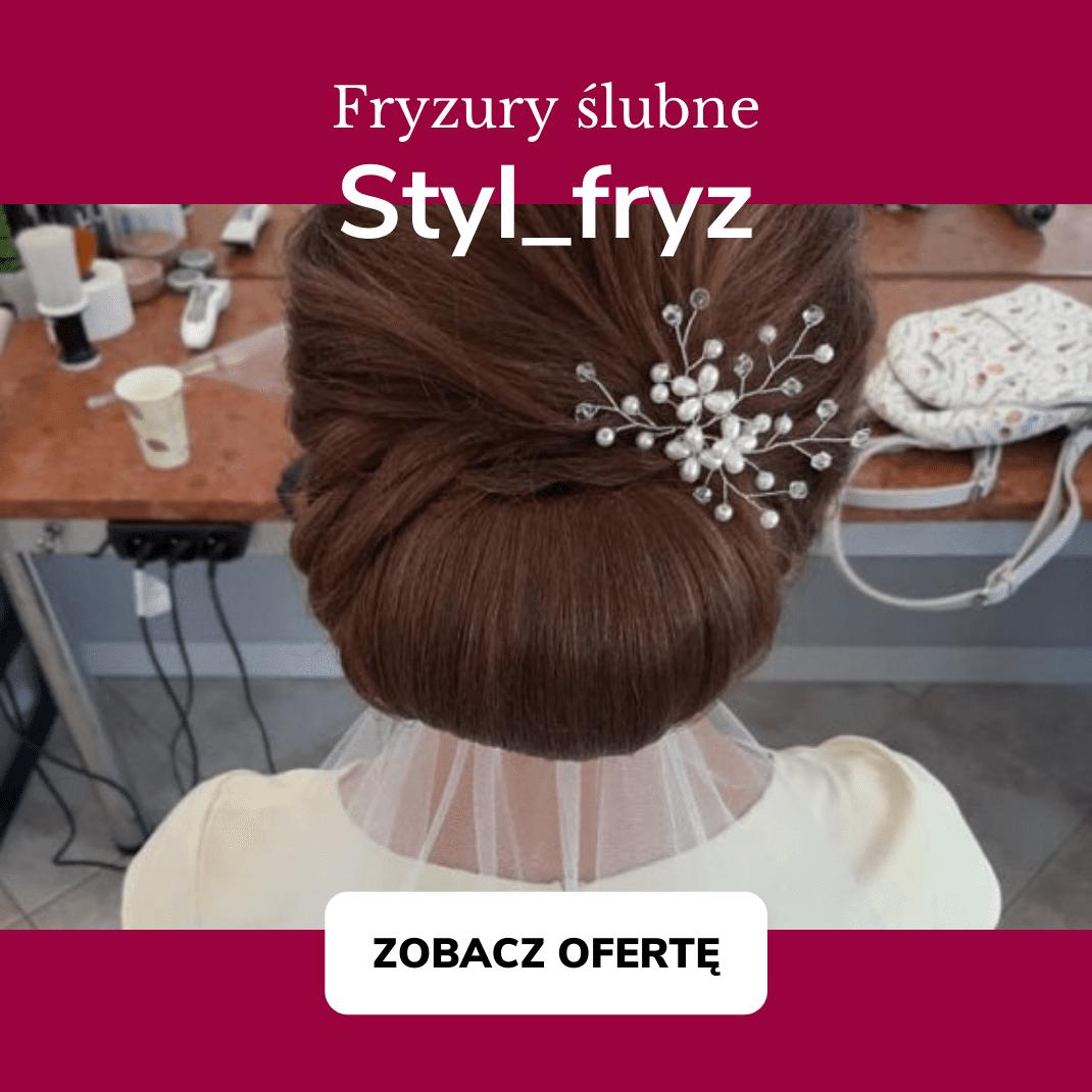 styl fryz premiery wedding