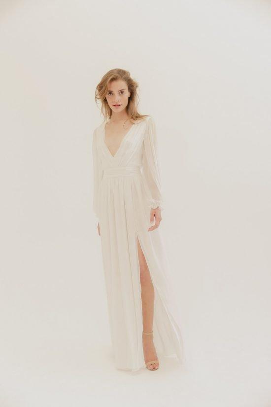 Sukienka zaręczynowa Jennifer Lawrence - L.Wells Bridal