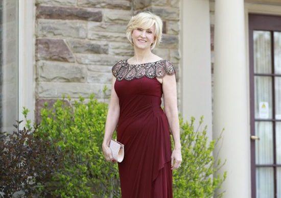 Sukienki na wesele dla dojrzałych kobiet 12