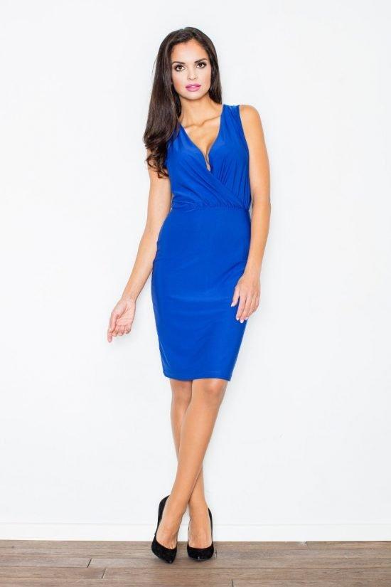 Niebieska sukienka na wesele do 100 zł