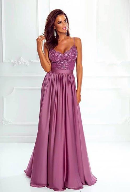 długa sukienka na wesele maxi