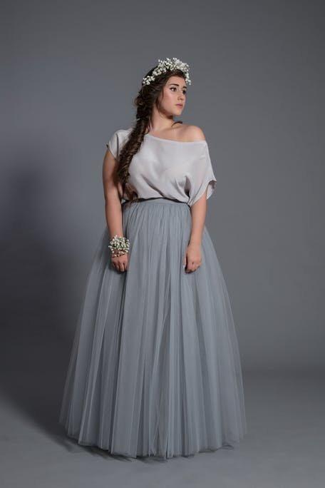 komplet bluzka i spódnica na wesele