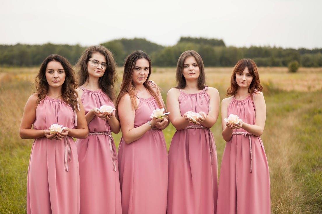 sukienki na wesele dla świadkowej druhny