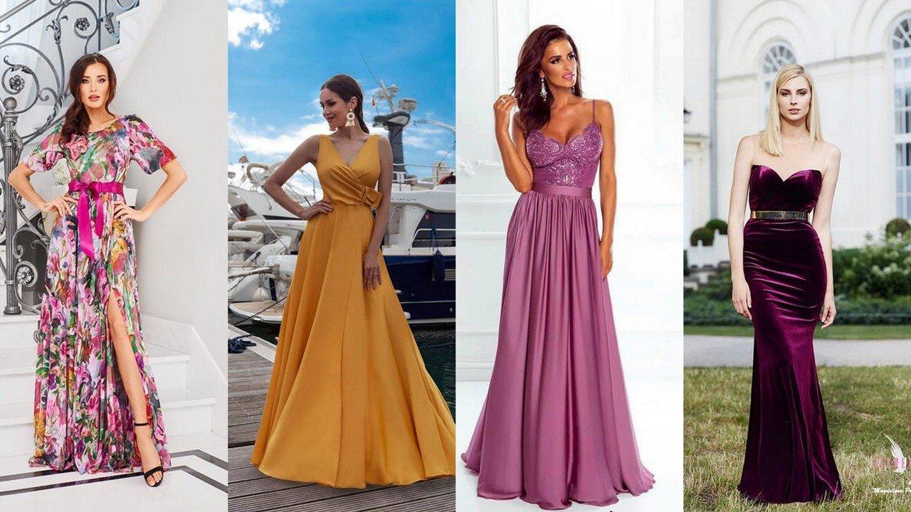 sukienki na wesele na wiosnę, lato, jesień, zimę