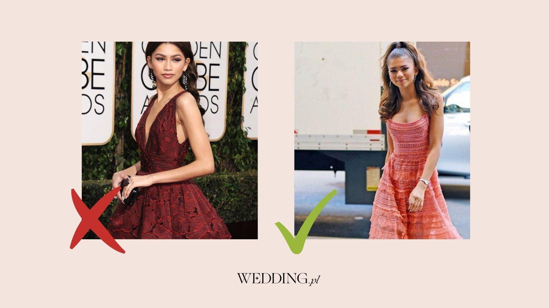 sukienki na wesele dobrane do wieku