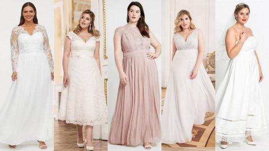 Suknie ślubne plus size ślub cywilny