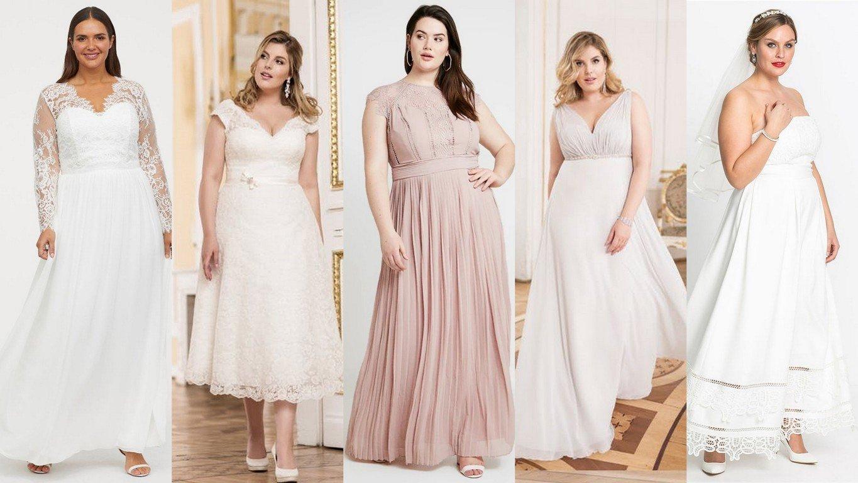 d2a2b883a0 Sukienki plus size na ślub cywilny  jak dobrać i gdzie kupić
