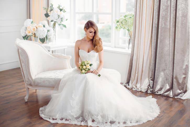 panna młoda suknia salon ślubny
