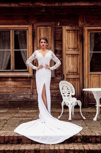 Suknia ślubna Syrenka Najciekawsze Propozycje Weddingpl